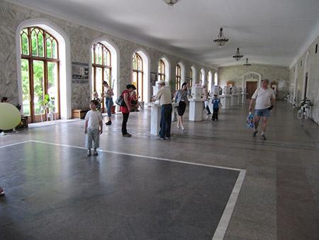 Нарзанная галерея Кисловодска
